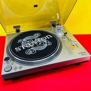 Stanton STR8-30 Direct Drive Turntable Retro DJ Classic Deck VGC w Cover
