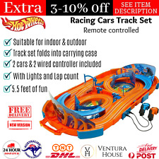 Hot Wheels 1 64 Outdoor Portable Slot Racing Car 280cm Track Kids Toy