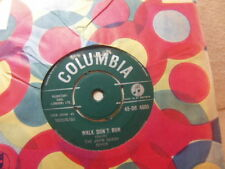 "John Barry Seven – Walk Don't Run 1960 7"" Columbia DB 4505"