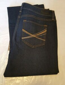 NEW Natural Reflections Women's Straight Leg Jeans Size 8