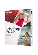 Corel Paintshop Pro X9 - Photo & Design Software for Windows Sealed!!