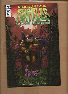 TEENAGE MUTANT NINJA TURTLES URBAN LEGENDS #17 RI EASTMAN VARIANT COVER  TMNT