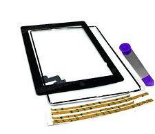 Digitizer Touch Screen Glass for The iPad 2 or Tools Black