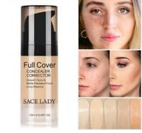 Face Concealer Cream Full Cover Makeup Liquid Corrector Waterproof Base Make Up
