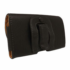 Plain Leather Mobile Phone Cases & Covers with Clip