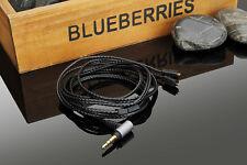 OCC Silver Audio Cable For Ultimate Ears UE TF10 SF3 SF5 5EB 5pro TripleFi TF15