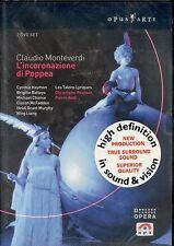 Claudio MONTEVERDI L'incoronazione di Poppea DVD NEW High Definition