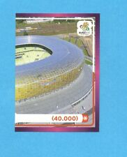 PANINI-EURO 2012-Figurina n.9- ARENA GDANSK DX -NEW-DARK BOARD