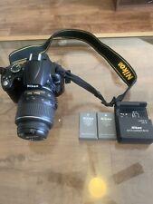 Nikon D5000 Digital SLR Camera DX VR 18-55mm With Accessories