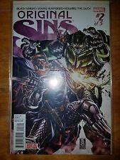 Original Sins #2 VF/NM 2014 Marvel Black Knight Young Avengers Howard the Duck