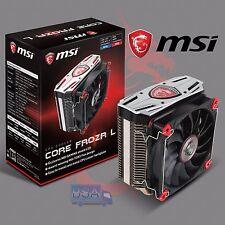 Disipador CPU Socket INTEL AMD MSI CORE FROZR L 200W Ventilador 120mm