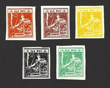 Ile Roy Fantasies FRANCE : COMMERCE 6v incl ESSAY MNH ex Jim Czyl