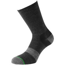 1000 MILE 2 SEASON MENS APPROACH SOCKS DOUBLE LAYER MERINO WOOL SOCK CHARCOAL