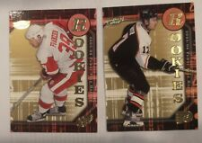 2005-06 UD ROOKIES  LOT OF 2 FRANZEN & CARTER