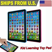 Kid Boys Educational Tablet Learning Toys Pad Gift for Girls Baby Children
