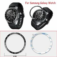 Bezel Ring Adhesive Cover Metal Case Protector for Samsung Galaxy Watch 42/46mm