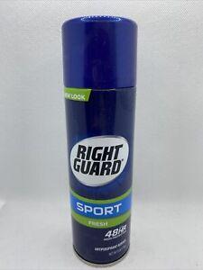 Right Guard Sport Antiperspirant Aerosol Spray, Fresh, 6 Ounce