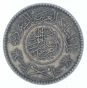 Better - 1935 Saudi Arabia 1/2 Riyal - TC *095