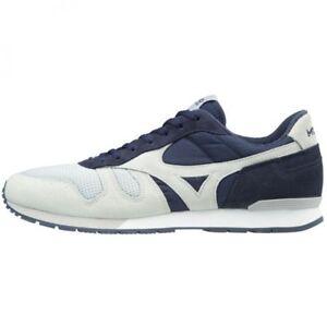 Mizuno sports-style casual sneakers MIZUNO ML87 D1GA1703 Gray × navy