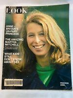 Look Magazine Vintage July 28,1970 Princess Anne Britain's Un-Fairy Princess