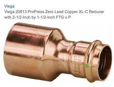 "Viega ProPress 2-1/2"" X 1-1/2"" Copper XL Reducer 20813"