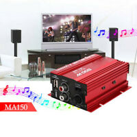 Mini Home HIFI 12V Stereo 500W Car MP3 Speaker Audio Power Amplifier