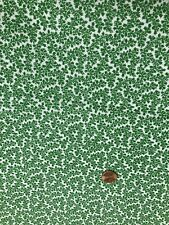 Kelly Green   Vines Fabric  6 Yards 100% Cotton  # 145