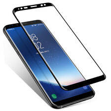 FULL COVERAGE Tempered Glass Screen Protector for Samsung Galaxy S7 S8 S9 + Plus