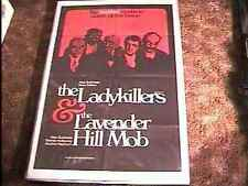 LADYKILLERS / LAVENDER HILL MOB OS POSTER PETER SELLER