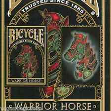 Warrior Horse Deck Bicycle Playing Cards Poker Size USPCC Limited Edition Sealed
