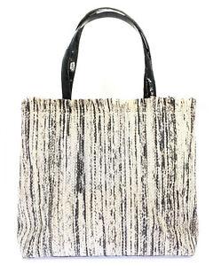 Nancy Gonzalez Resort 2020 Black Elaphe And Crocodile Handbag CS196017-EH6