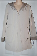 "BNWT ~ Woman's Winter Trench Coat Size ""S""  Croft & Barrow Reversible Retail $85"