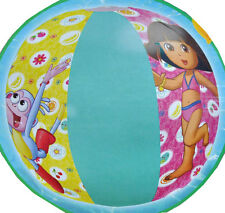 "LOT OF 10 DORA THE EXPLORER Girls Inflatable Pool 20"" Beach Balls Toy 3+ NIP"