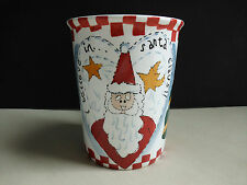 St. Nicholas Square Mug Cup I Believe In Santa Claus Christmas Tree Gingerbread