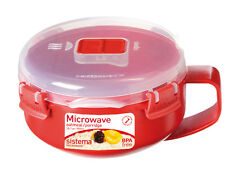 Sistema Red Microwave Klip-It Porridge Oatmeal Breakfast Bowl 850ml 18001112
