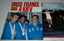MIROIR ATHLETISME N°25 1966 PHOTO RAND URSS-FRANCE NORPOTH ZATOPEK BERGER KONE