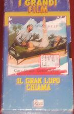 """Videocassetta/VHS """" IL GRAN LUPO CHIAMA  """" cod. SIAE"""