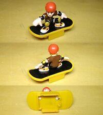 2001 Life-Like Brown SkateBoard HO Slot Car Body 3731
