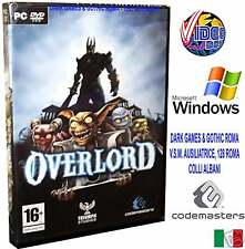 OVERLORD 2 II PC DVD WINDOWS GIOCO @ ITALIANO NUOVO ITA