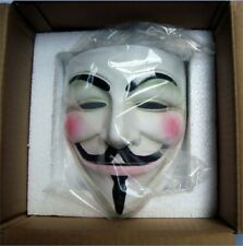 Cosplay Halloween Guy Fawkes V FOR Vendetta Anonymous Resin Adult Masks