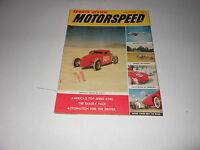 1957 SPORTS REVIEW MOTORSPEED vintage car magazine