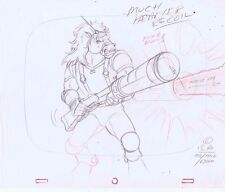 Bravestarr TITLE SCREEN Original Animation Production Pencil Drawing #A10895