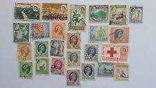 25 Different Rhodesia/Nyasaland Stamp Collection