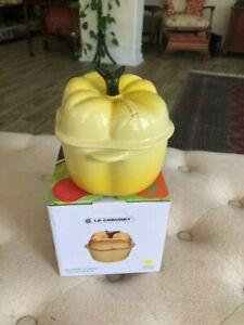 Le Creuset Stoneware Yellow Bell Pepper Mini Cocotte