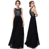 Elegant Lace Women Backless Formal Wedding Long Vestido Evening Party Gown Dress