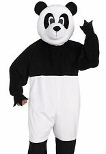 Adult Panda Costume Plush Furry Deluxe Bear Cosplay Animal Mascot - Fast Ship -