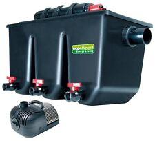 T.I.P. Mehrkammer-Teichaußenfilter PTS 40000 UVC 25 Wat Teiche bis 40.000 Liter