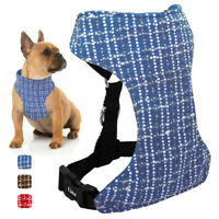 Cotton Soft Dog Harness Air Mesh Puppy Pet Dog Car Harness for Small Medium Dogs