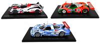 Sammlung von 3 Modellautos Le Mans Nissan Mazda Toyota 1:43 Spark Miniatur LM44