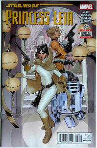 Star Wars Princess Leia #2 - Marvel Comics - Mark Waid - Terry Dodson